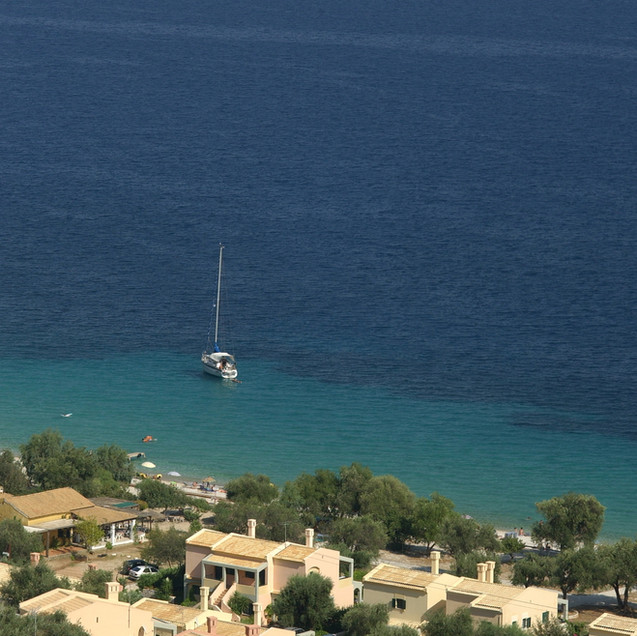 Riviera Barbati long distance panoramic