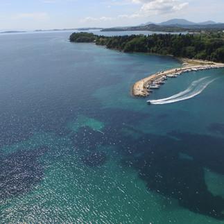 Hotel Ipsos Beach Aerial photos 2015DJI_