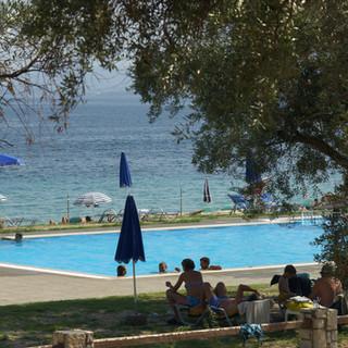 Riviera Barbati swimming pool & sea view