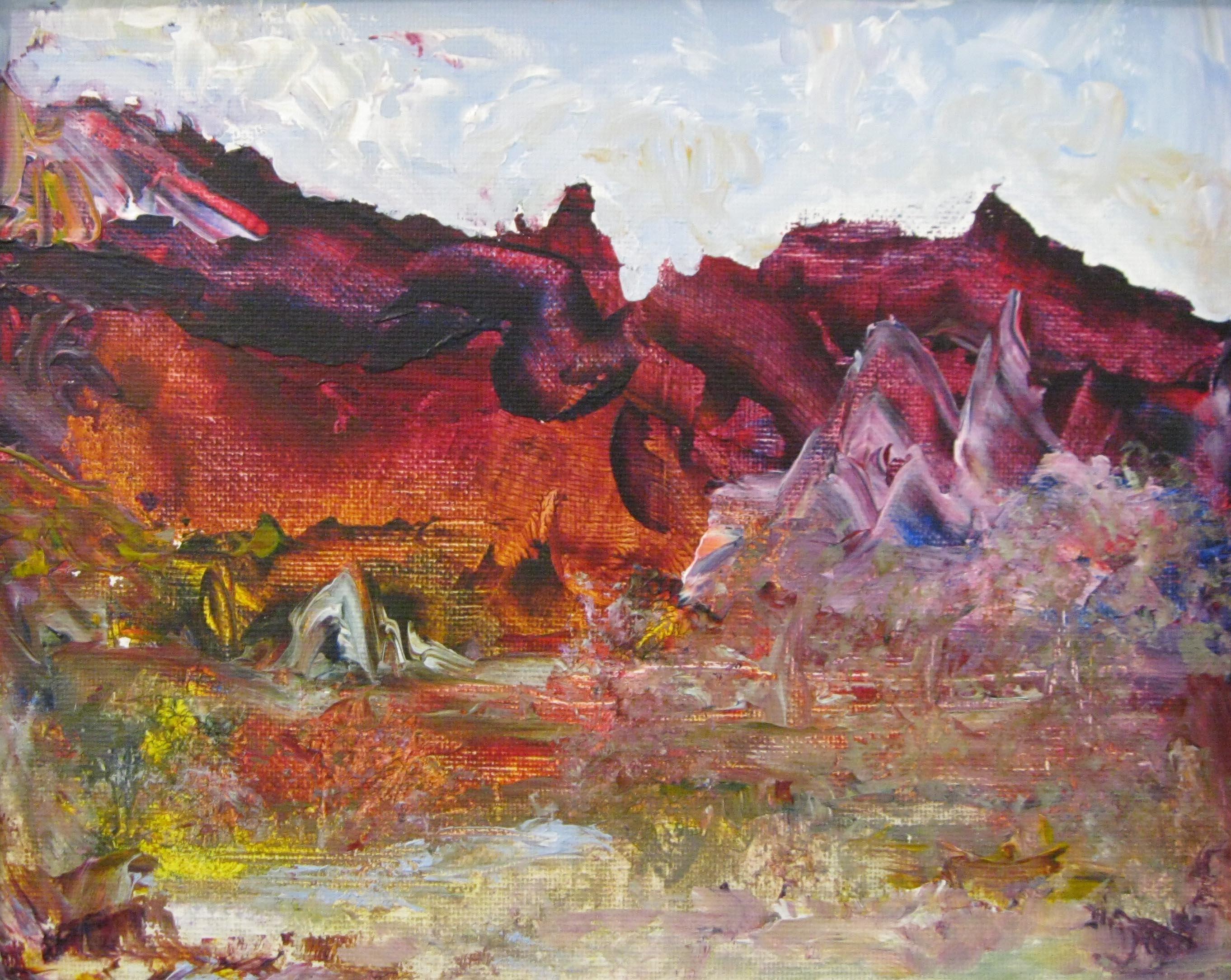 Dreamscape -Purple Hills