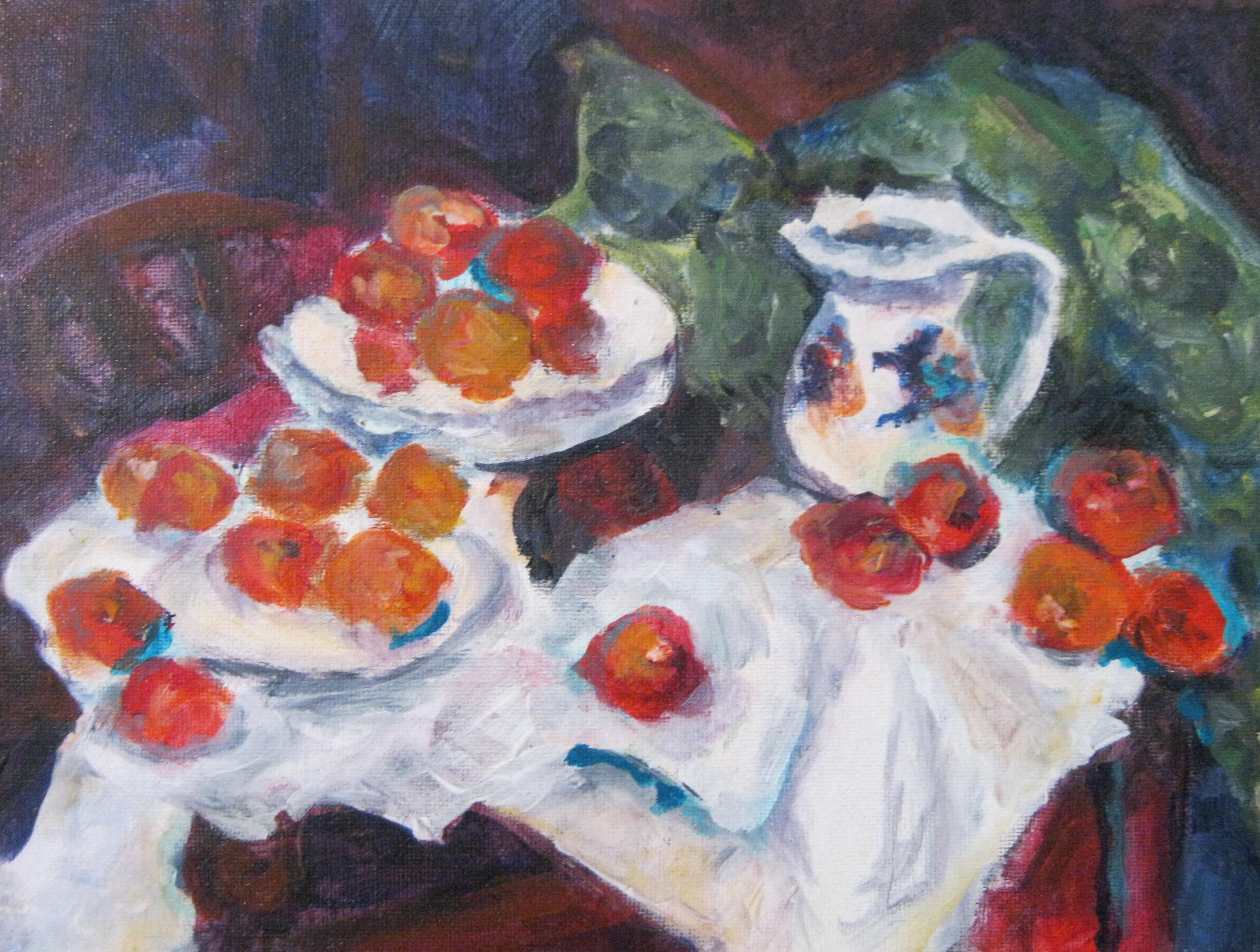 Apples after Cezanne
