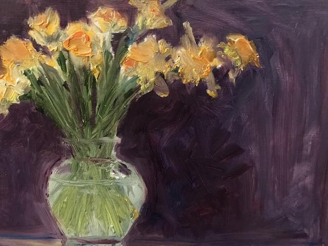 Tulips -Oil - Sold