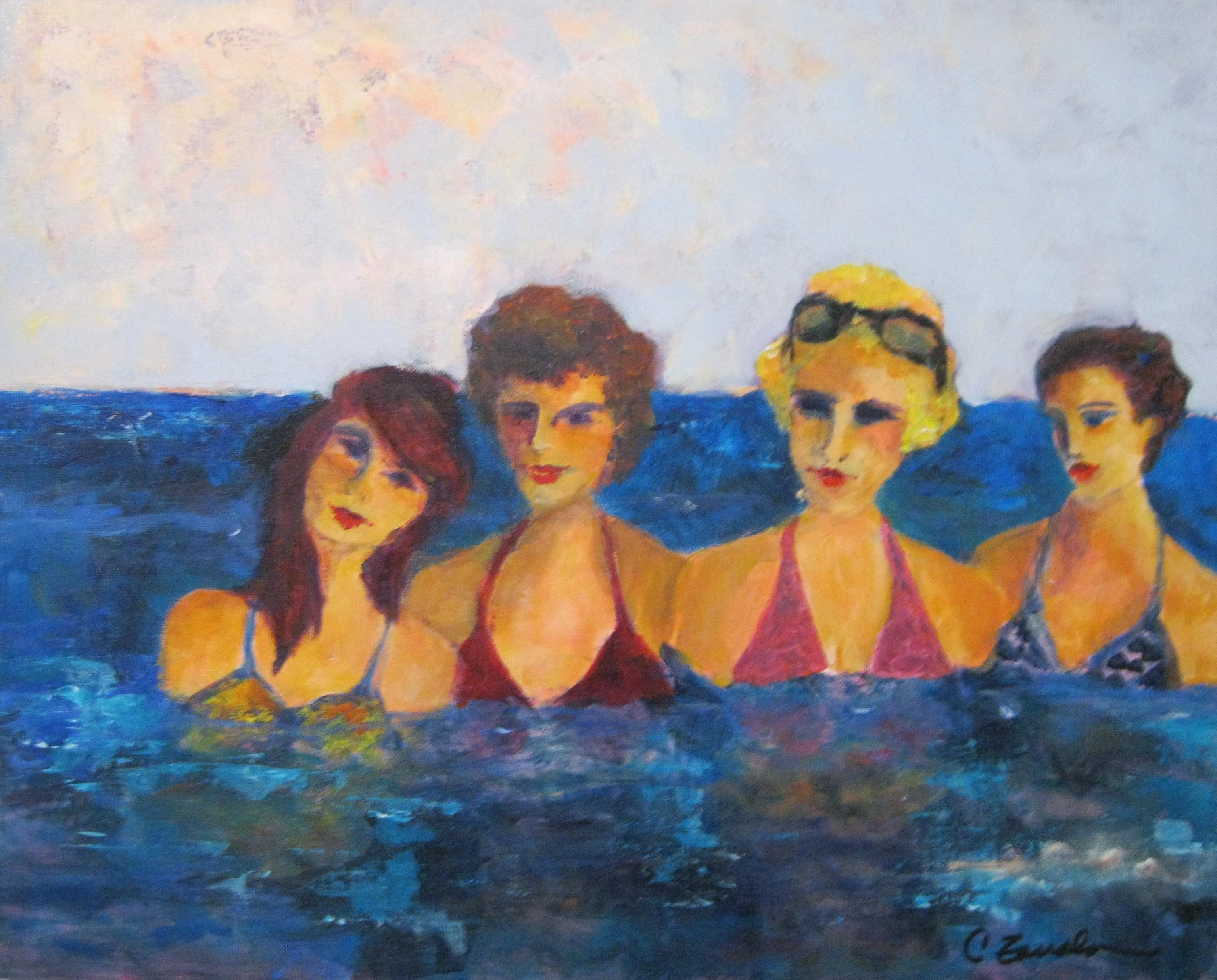 Les Girls of Laguna