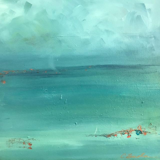 Silent Sea acrylic