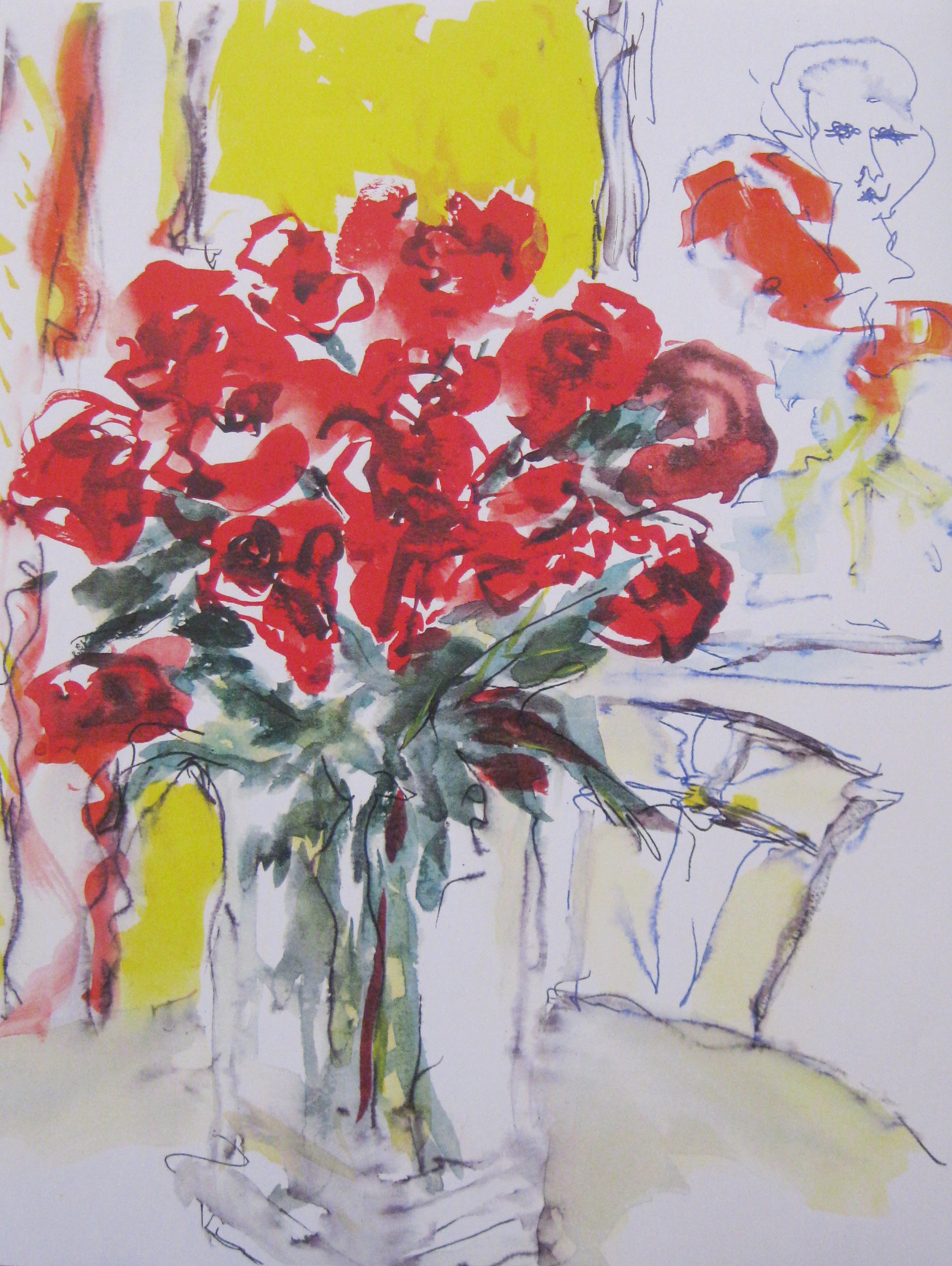 Roses with Matisse