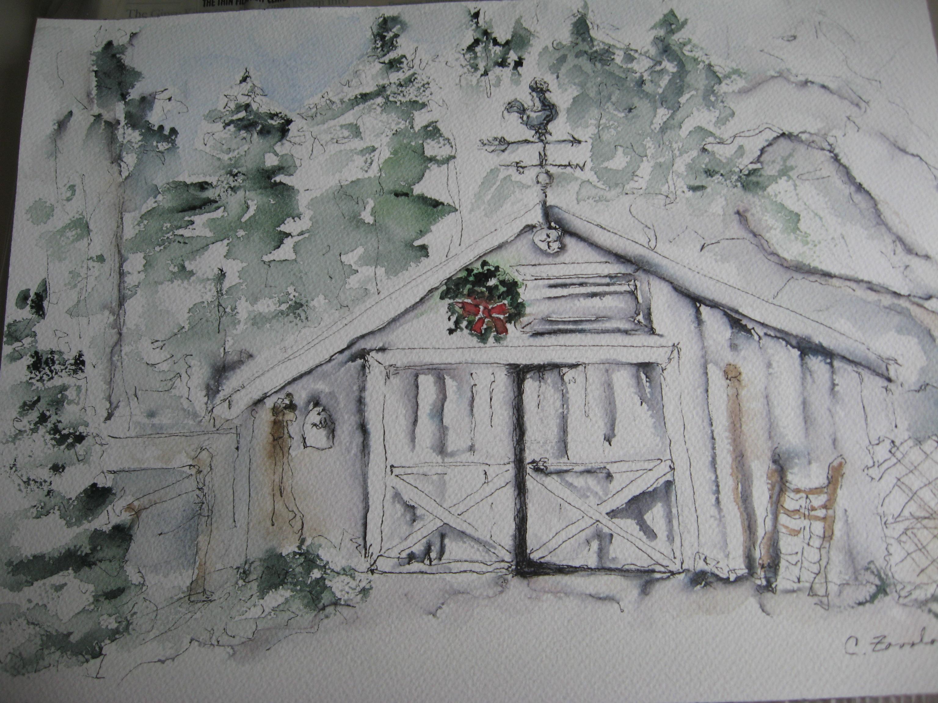 Marc's Snowy Barn - Woodinville, WA