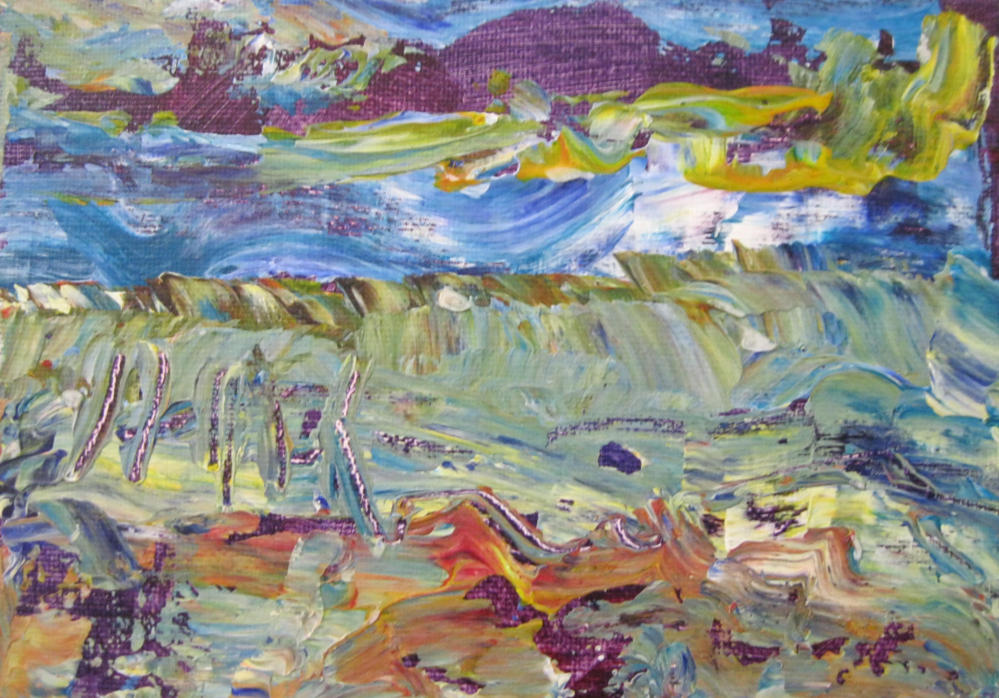 Abstract Sea and Shore