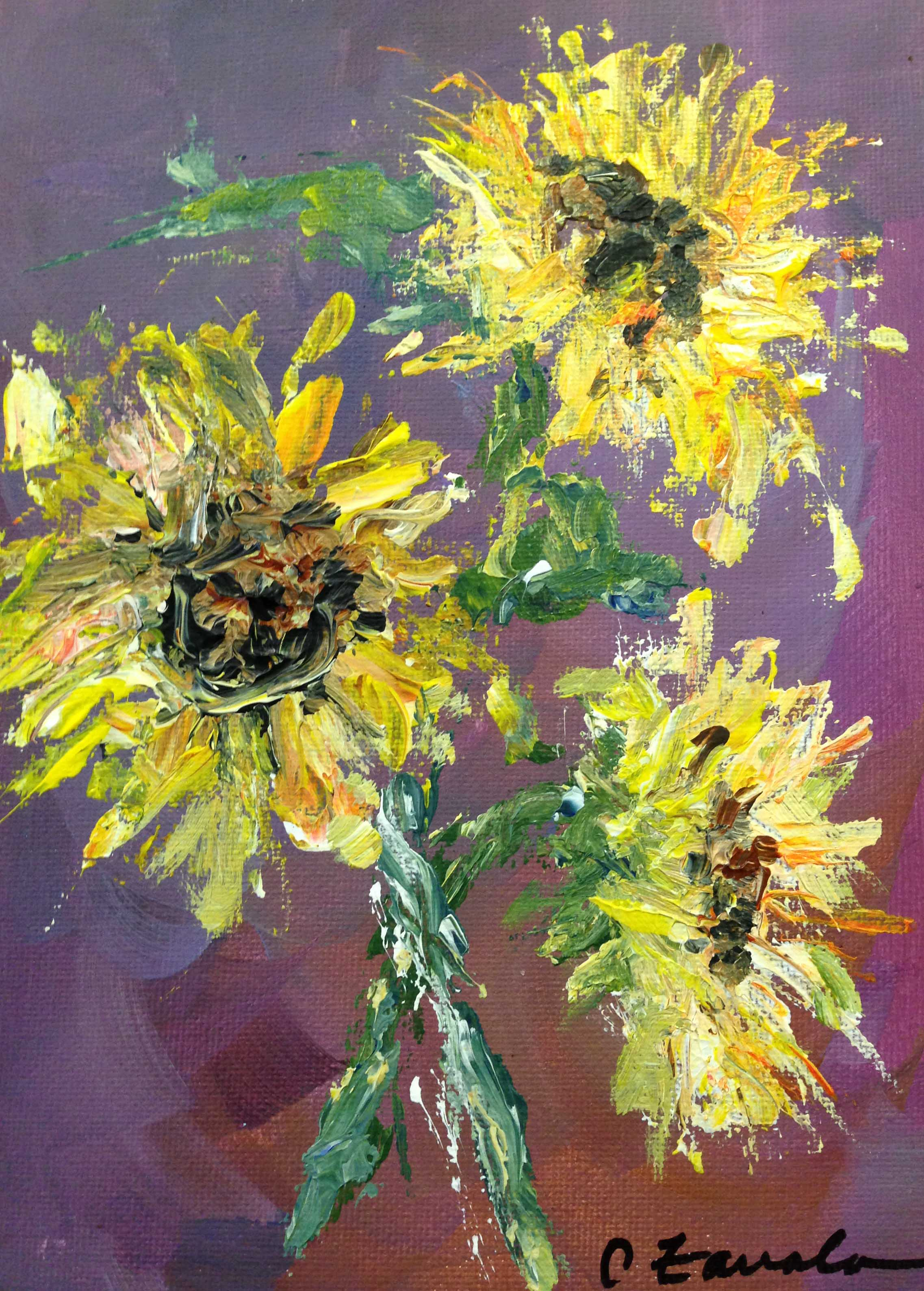 Blooms-sunflowers pm [ir[;e