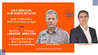 📢 [#INVITATION] Débat avec Geoffroy LAMARCHE et Christian MINIATURA