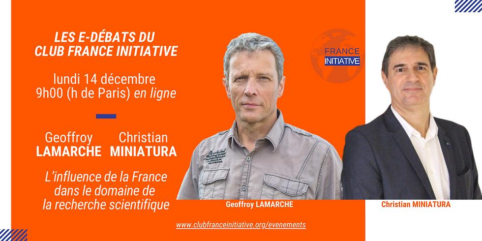 E-débat   G. LAMARCHE, C. MINIATURA