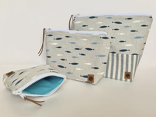 Handmade Zip Bags
