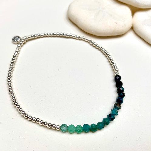 Tourmaline Ombre Bracelet