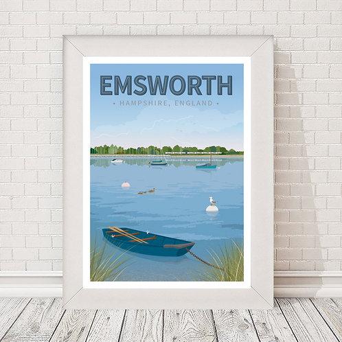 Emsworth Poster/Print