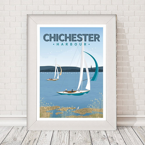 Chichester Harbour Poster/Print