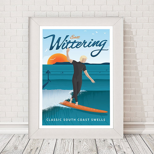 East Wittering Poster/Print
