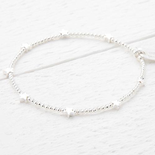 Trixabelle Silver Star Bracelet