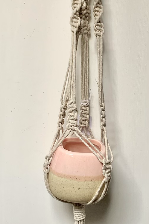 Mini Macrame Plant Hangers