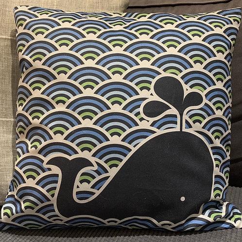 Whale Cushion Cover
