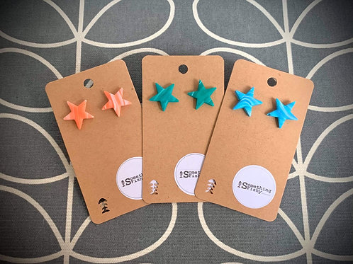 Medium Star Earrings