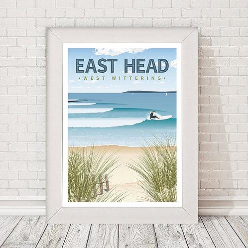 East Head Poster/Print