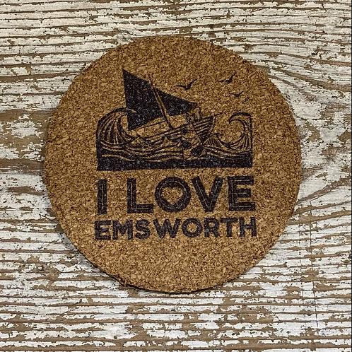 I Love Emsworth Coaster