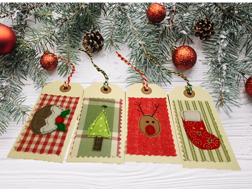 Pack of Christmas Gift Tags