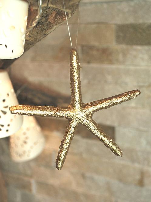 Mini Gold Starfish