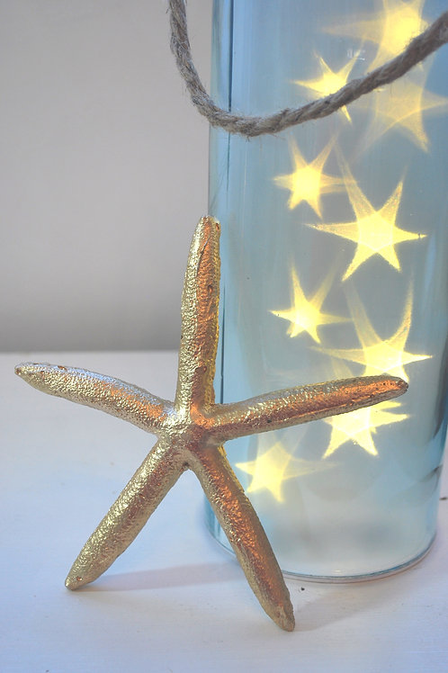 Large Gold Starfish