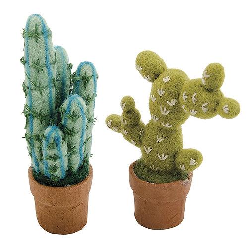 Small Felt Cactus