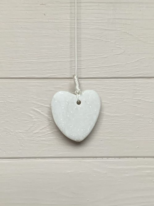 Stone Heart Bathroom Light Pull