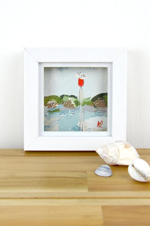 Mini Original Painting 'Channel Marker'