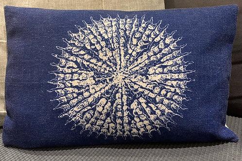 Jute Sea Urchin Cushion Cover