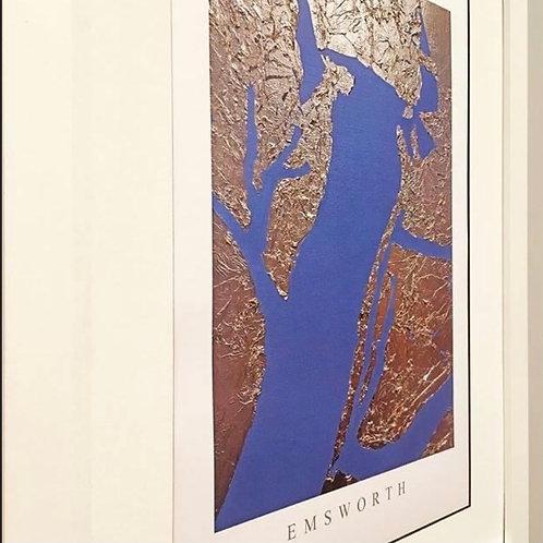 Emsworth Gold Leaf Print