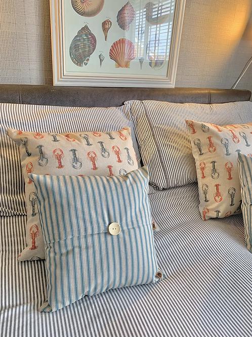 Handmade Mini Stripe Cushions