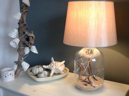 Beach in a Bottle Lamp