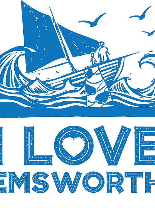 I Love Emsworth Sticker