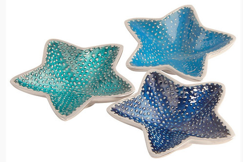 Starfish aluminium dishes