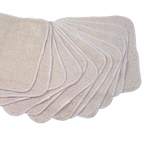 Soft Muslin Face Cloths