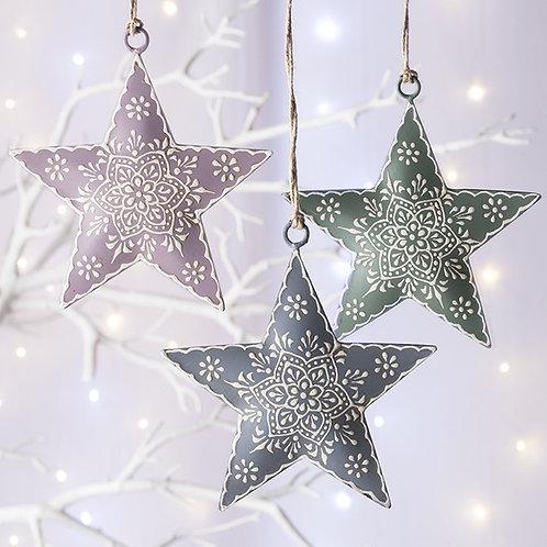 Pastel Hanging Stars