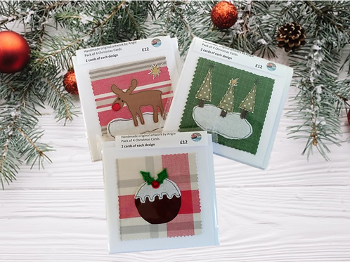 Christmas Card Pack of 4