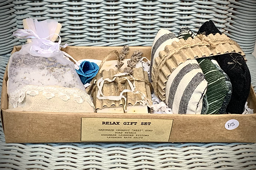 'Relax' gift set