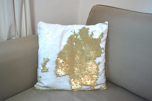 Sequin Reverse Cushions