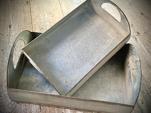 Galvanised Metal Trays