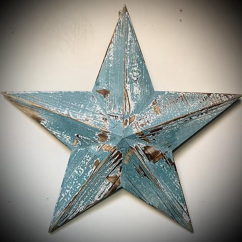 Wooden Barn Stars