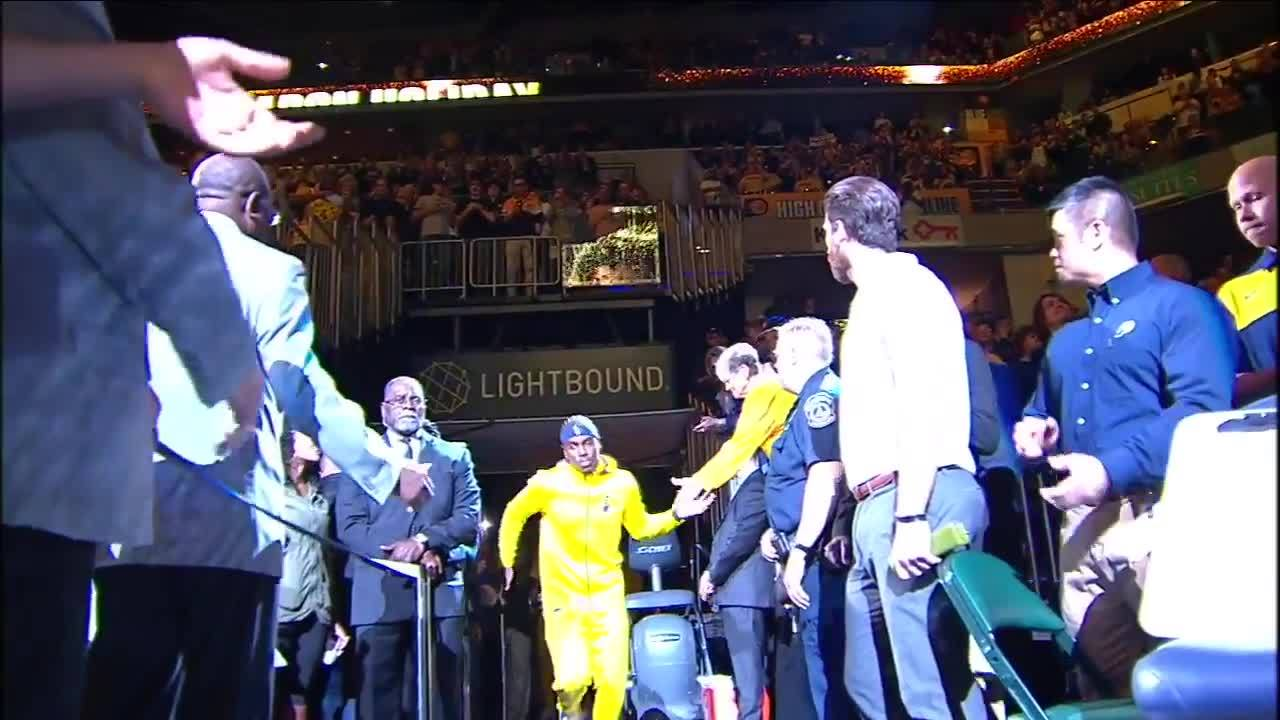 2018 Pacers Opening Night