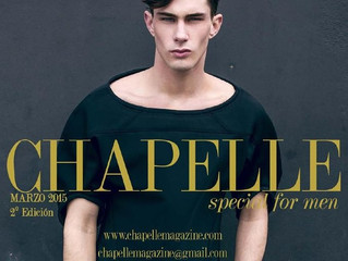 BLACKSTORM - Editorial for Chapelle Magazine