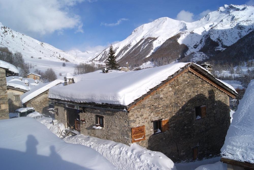 La maison en hiver