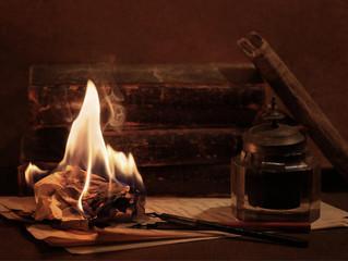 Температура горения бумаги