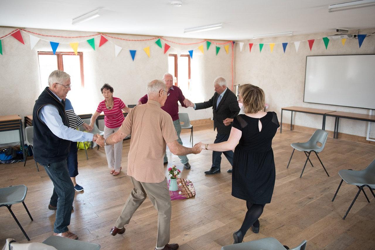 Circle Dance in Dementia