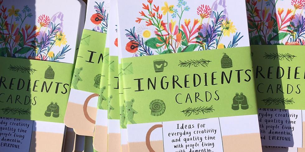 'Ingredients Cards' Workshop